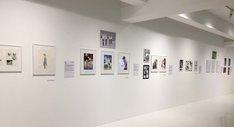 「文化庁メディア芸術祭20周年企画展―変える力」マンガ部門の展示の様子。