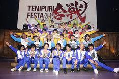 「テニプリフェスタ 2016 ~合戦~」竹(Tick)の回の出演キャスト。