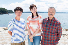 左から濱田岳、比嘉愛未、西田敏行。(c)やまさき十三・北見けんいち・小学館/テレビ東京/松竹