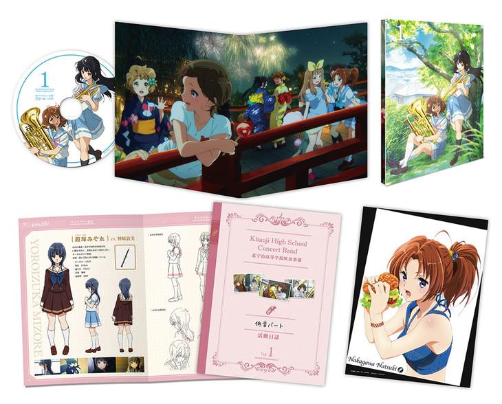 Blu-ray / DVD第1巻の収録物展開図。