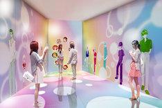 「ソラカラポイント」に設けられる「イケメン☆カーニバル」の装飾イメージ。(c)集英社・りぼん (c)TOKYO-SKYTREE