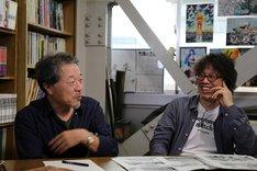 左からかわぐちかいじ、浦沢直樹。 (写真提供:NHK)