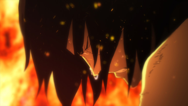 「LUPIN THE IIIRD 血煙の石川五ェ門」の場面カット。