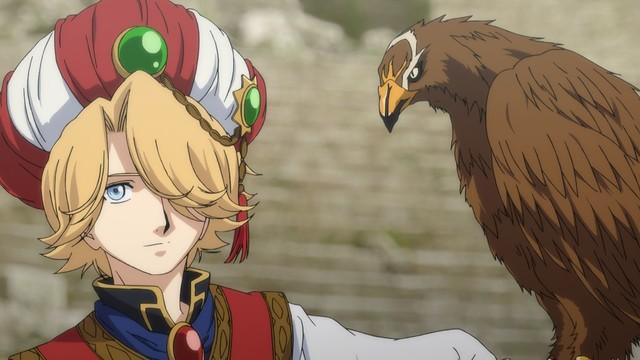 アニメ「将国のアルタイル」の場面カット。