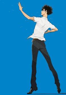 アニメ「ボールルームへようこそ」キービジュアル第1弾  (c)竹内友・講談社/小笠原ダンススタジオ