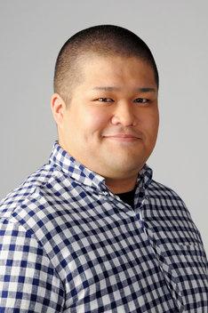 久川久美男役の水沼天孝。