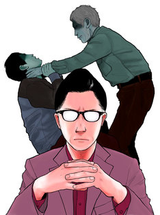 「『子供を殺してください』という親たち」マンガ版カット