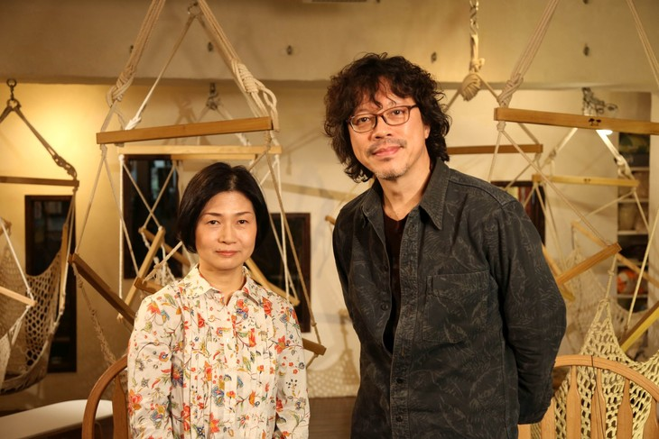 左から清水玲子、浦沢直樹。(写真提供:NHK)