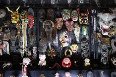 水木しげるによる妖怪・精霊像コレクション。