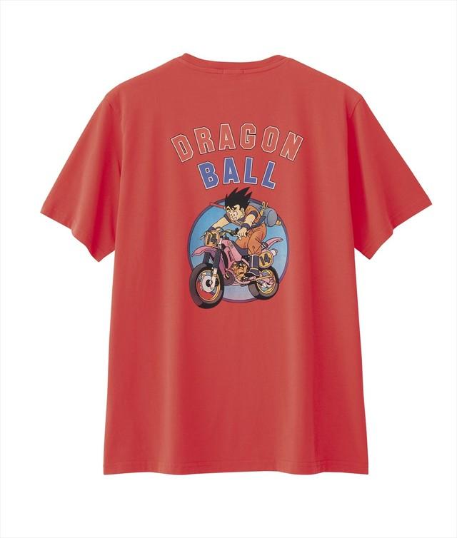 「ドラゴンボール×GU グラフィックTシャツ」