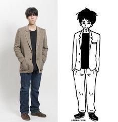 道間慎役の野田洋次郎。
