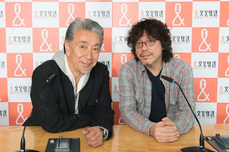 高田純次と浦沢直樹。