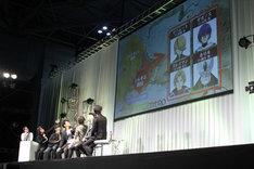 「AnimeJapan 2017」で行われた「将国のアルタイル」のステージイベントの様子。