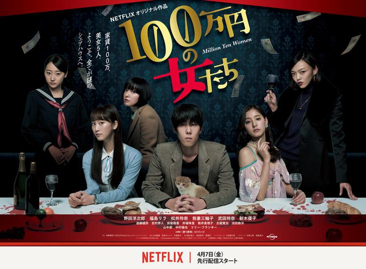 「100万円の女たち」キービジュアル
