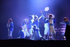 「ミュージカル『テニスの王子様』TEAM Live HY0TEI」ゲネプロの様子。