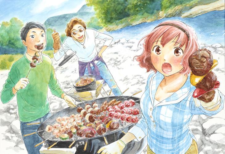 「玉子の毎週BBQ!」のカラーカット。