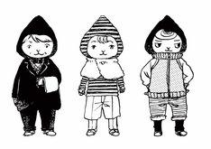 「孤食ロボット」のカット。(c)岩岡ヒサエ/集英社