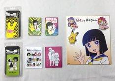 「日ペンの美子ちゃん原画展」で発売される、3代目「日ペンの美子ちゃん」グッズ。