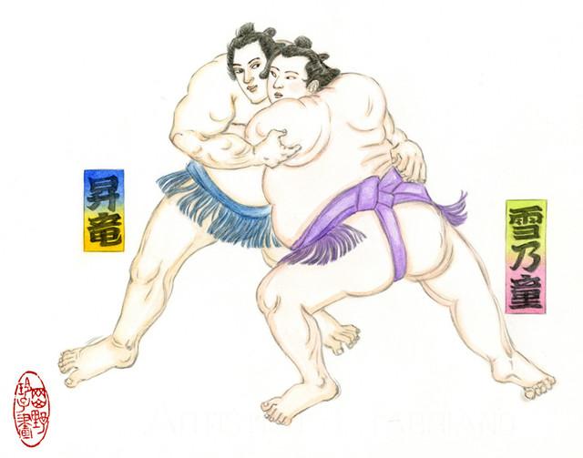 「両国花錦闘士」カット