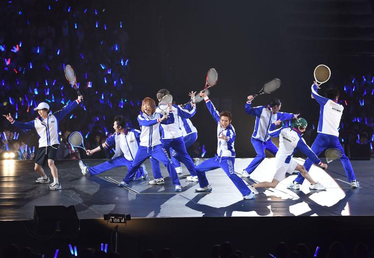 「コンサート Dream Live 2017」初日公演より青学メンバー。
