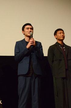 左から川籠石駿平、田中俊介。