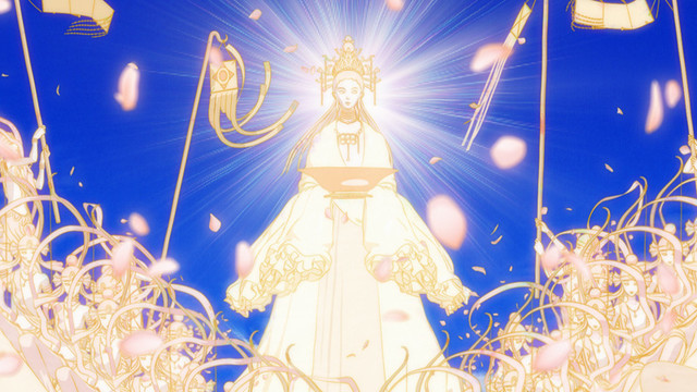 アニメ「宝石の国」ティザーPVより。