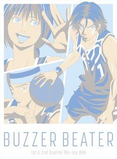「BUZZER BEATER」Blu-ray BOXのジャケットビジュアル。
