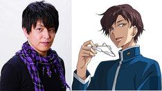 緑川光と演じるキャラクター・深見誠司。