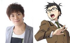 古川慎と演じるキャラクター・戸塚光太郎。