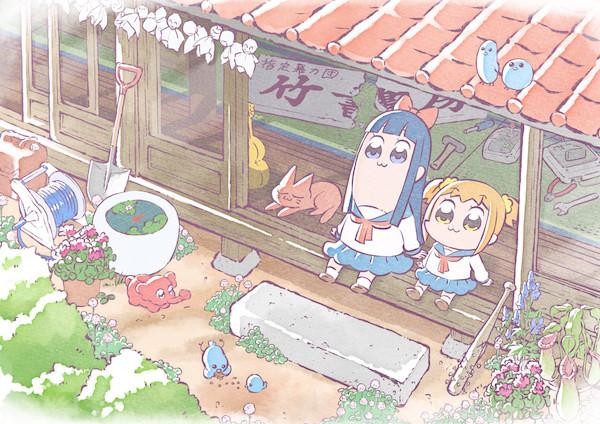 アニメ「ポプテピピック」キービジュアル