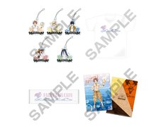 「FAIRY TAIL CAFE~ギルド出張版!海の家~」会場限定グッズ。