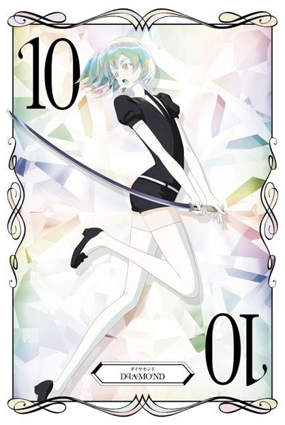 アニメイトで配布されるダイヤモンドのカード。