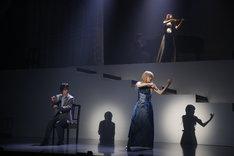 舞台「四月は君の嘘」公開ゲネプロの様子。