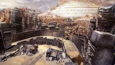 「北斗が如く」の舞台となる街・エデンのイメージ。