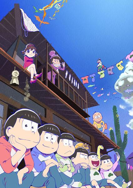 テレビアニメ「おそ松さん」第2期メインビジュアル