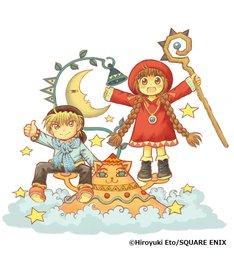 「連載25周年記念 魔法陣グルグル大原画展 ~衛藤ヒロユキの世界~」ビジュアル