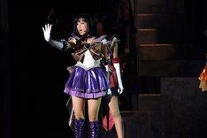 「ミュージカル『美少女戦士セーラームーン』-Le Mouvement Final-」公開舞台稽古より。