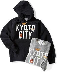 「KYOTO CITY」と「有頂天家族」のコラボによるアイテム。