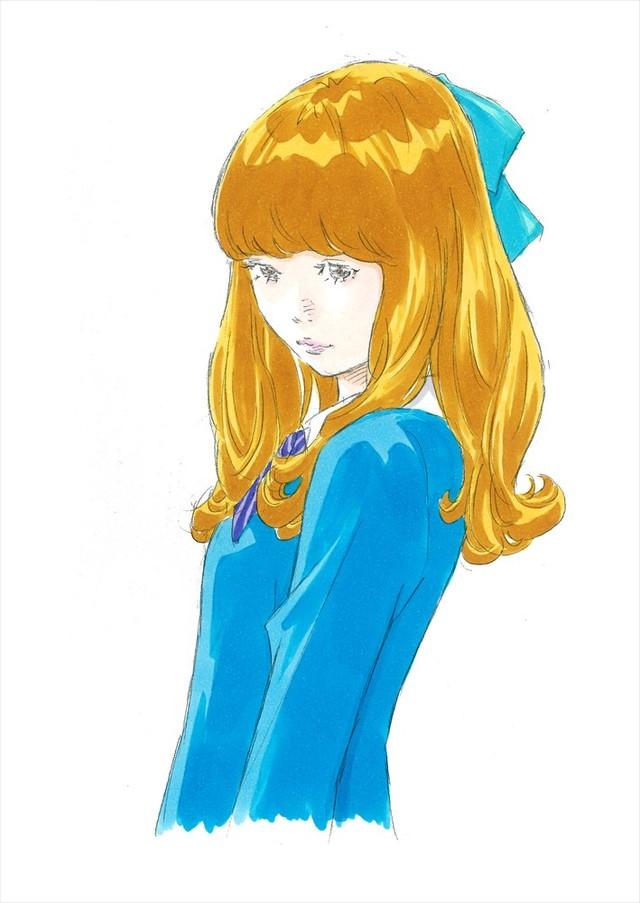 窪之内英策による、クララのキャラクター設定画。