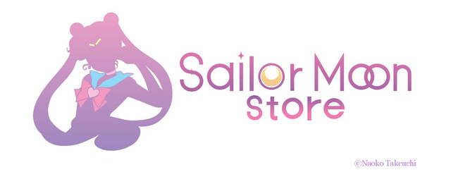 「Sailor Moon store」ロゴ。