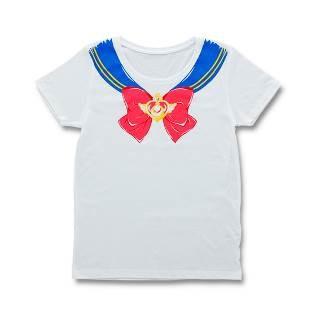 なりきりセーラーTシャツ。