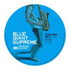 レコード「BLUE GIANT SUPREME」のA面。