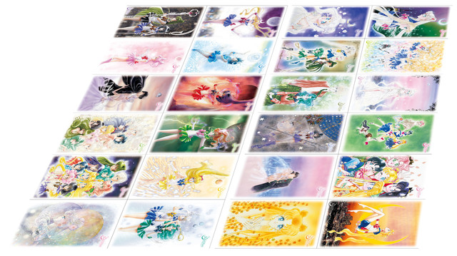 ポストカード(24種)。