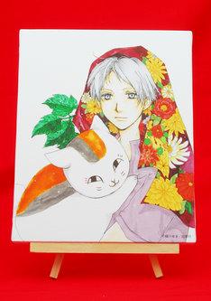 「美しい少女まんがの世界」で販売された「キャンバスパネル 緑川ゆき」。