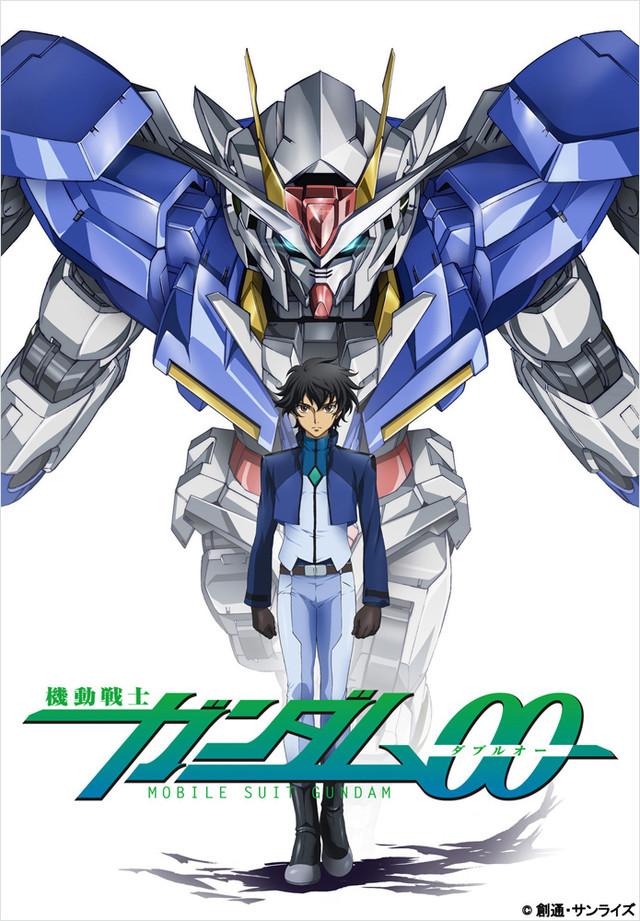 「機動戦士ガンダム00 1st&2nd season Blu-ray BOX」キービジュアル