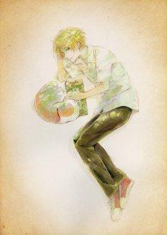 劇場版「夏目友人帳」のティザーイラスト。