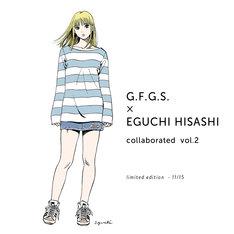「G.F.G.S. × EGUCHI HISASHI collaborated vol.2」ビジュアル。