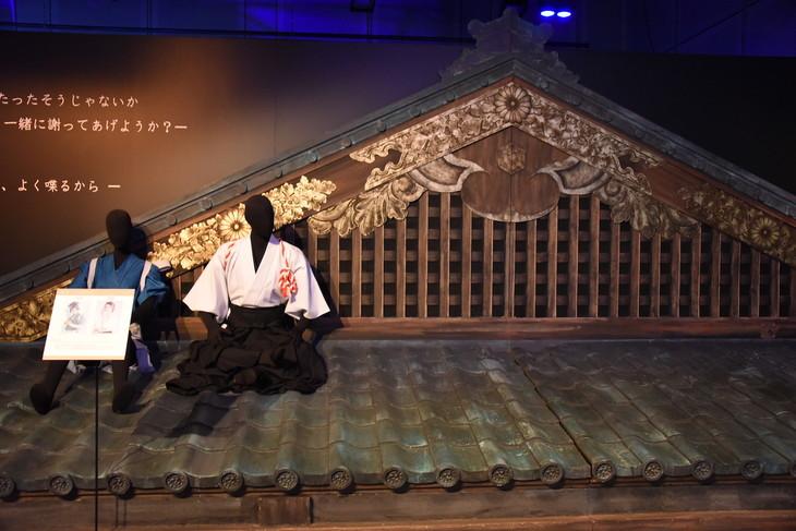 「舞台『刀剣乱舞』」のフォトスポットコーナー。