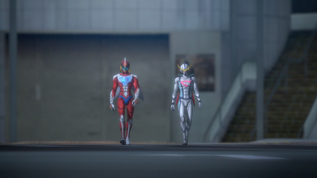 「劇場版Infini-T Force/ガッチャマン さらば友よ」特報より。