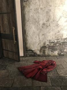 衣装の西原梨恵により制作されたエドのマント。